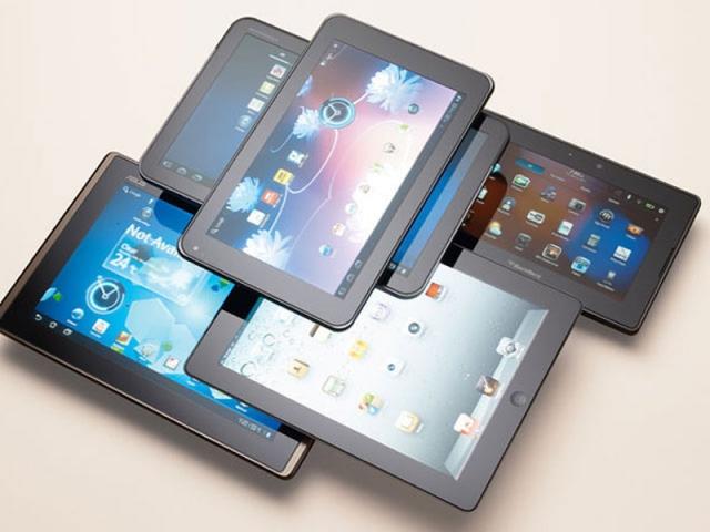 При выборе планшета, обратите внимание на его размер