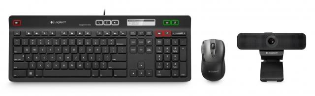 Новая клавиатура Logitech с возможностью управления телефонными звонками
