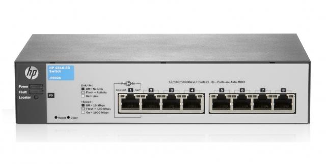 Новые коммутаторы HP Networking серий 2530 и 1810 v2