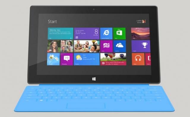 Microsoft не поставляет Surface под управлением Windows 8 Pro в Европу