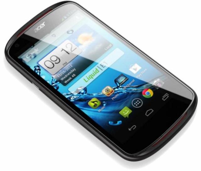 Acer Liquid E1 – смартфон среднего класса под управлением Android