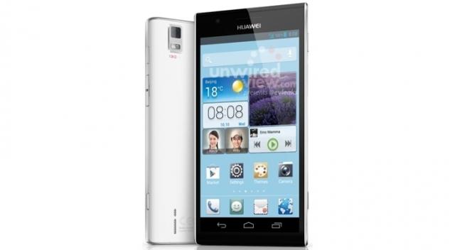 В сети появилось фото Huawei Ascend P2