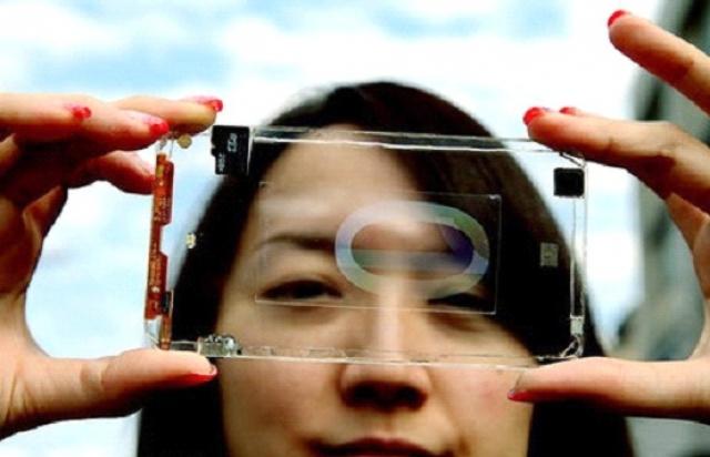 Прозрачный смартфон от Polytron Technologies
