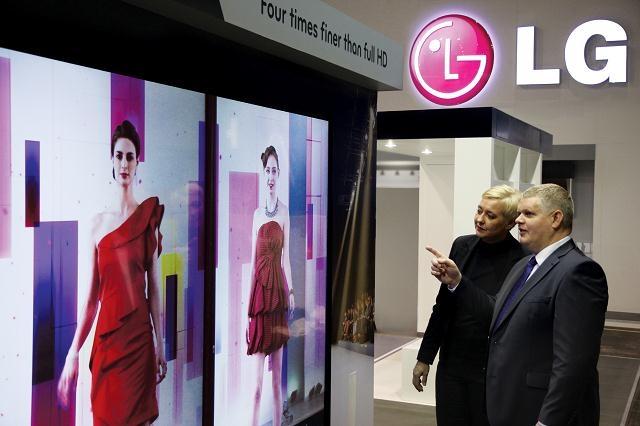 Коммерческие дисплеи с IPS-технологией от LG