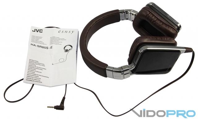 JVC HA-SR85S: необычные наушники для необычных людей