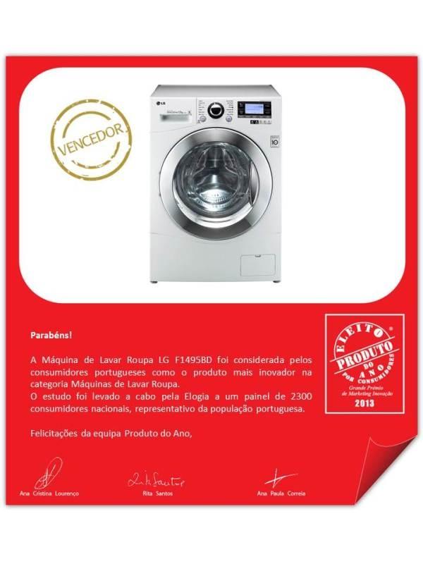 Cтиральная машина и холодильник LG признаны «Продуктом Года 2013»