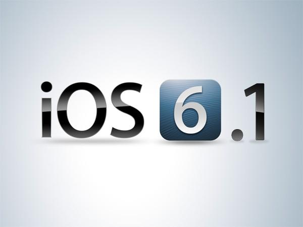 iOS 6.1 обновляется с ультразвуковой скоростью