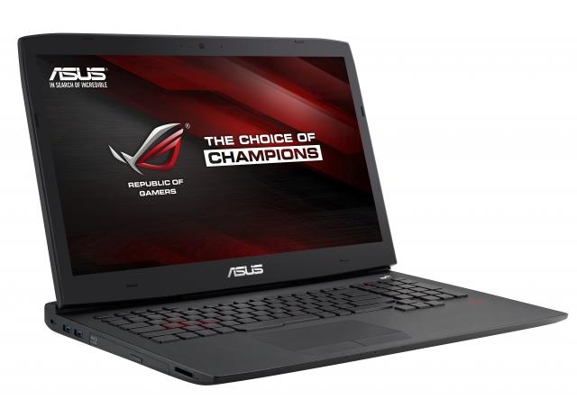 Самый мощный ноутбук в игровой серии ASUS ROG G751 доступен в Украине