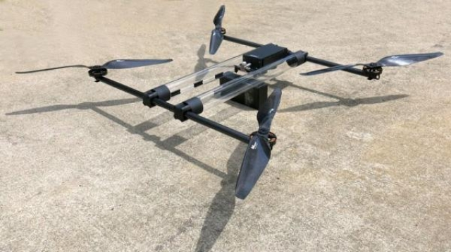 Беспилотник Hycopter, работающий на газу, способен летать на протяжении 4 часов