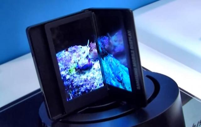 Samsung Galaxy Q – воплощение мечты о гибком дисплее?