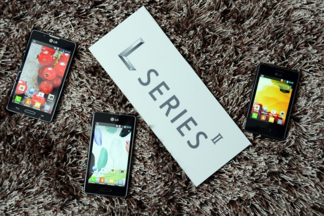 LG официально представляет смартфоны серии L II