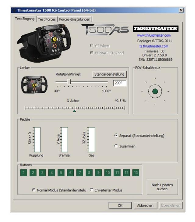 Обзор руля Thrustmaster T500 RS Ferrari F1
