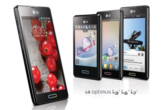 LG Optimus L-Style II  на MWC 2013
