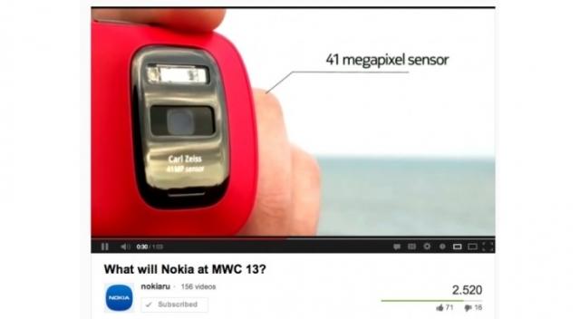 В Nokia показали Windows-фон с PureView?