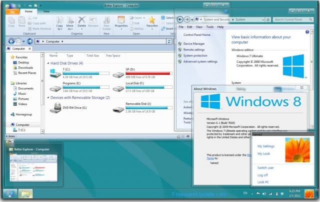 Windows 8 в два раза быстрее Windows XP
