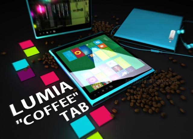 NOKIA LUMIA COFFEE TAB – долгожданный планшет Nokia