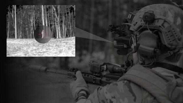 Новые военные очки совмещают ночное видение и тепловизор