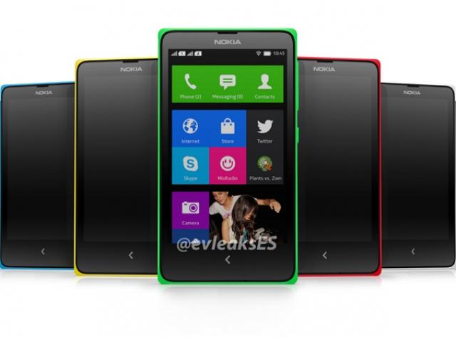 Новый пресс-рендер Nokia Normandy: Android, который выглядит как Windows Phone