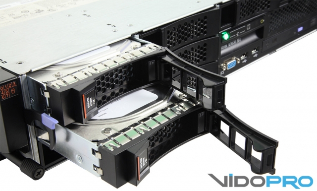 Обзор стоечного сервера IBM x3630 M4