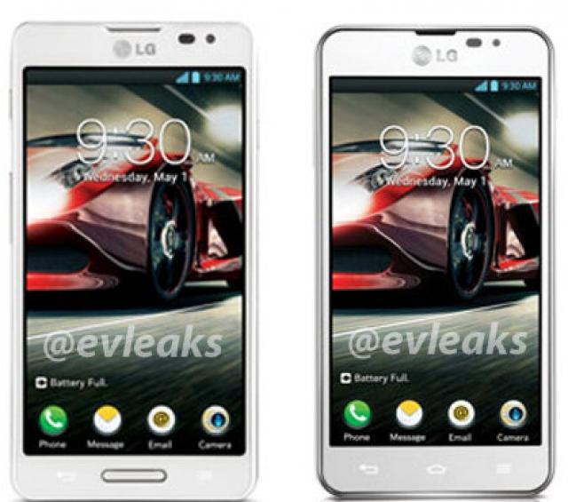 Первые фотографии смартфонов F-серии от LG