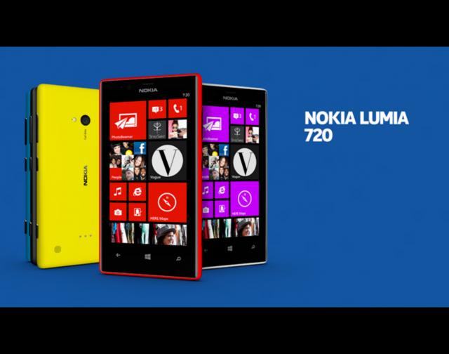 Nokia Lumia 720: диафрагма объектива камеры f1.9