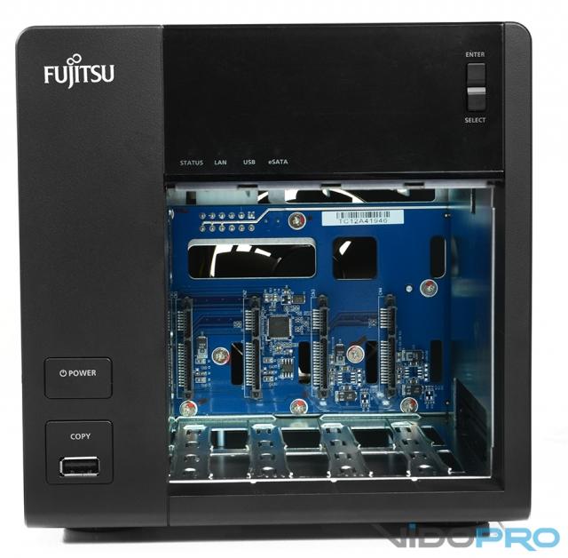 Обзор системы хранения данных Fujitsu Celvin Q802