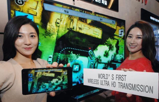 В LG продемонстрировали беспроводную технологию для передачи контента Ultra HD