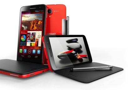 Alcatel пополнили семейство Scribe смартфоном с HD-дисплеем