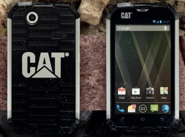"""Суперпрочный Caterpillar CAT B15 – """"броненосец"""" на Android"""