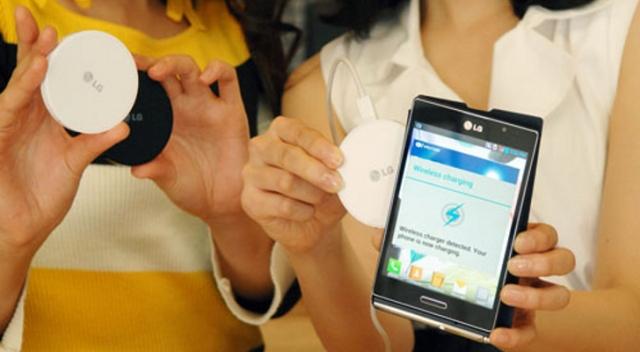 LG представила миниатюрную беспроводную зарядку