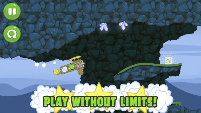 Bad Piggies получил масштабное обновление: 30 новых уровней