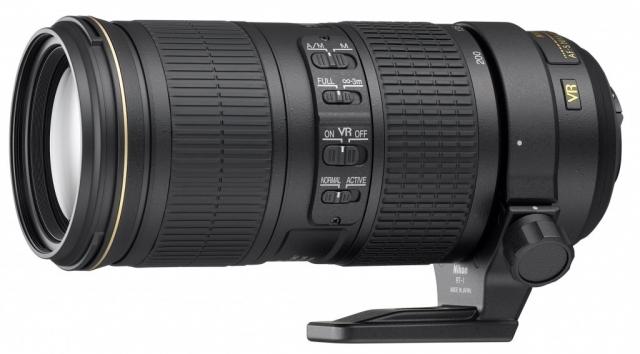Объектив Nikon AF-S 70-200mm f/4 G ED VR