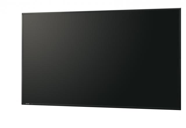 Профессиональные мониторы  Sharp для цифровых систем оповещения