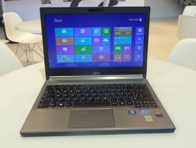 Линейка ноутбуков Lifebook E от Fujitsu будет представлена в трех размерах