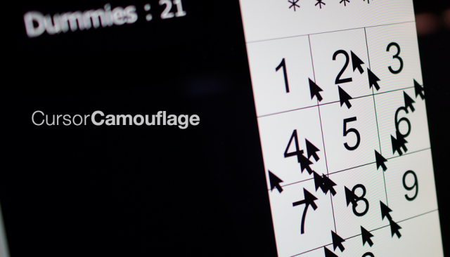 Новейший способ защитить данные – CursorCamouflage