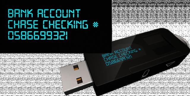 myIDkey - биометрический флеш-накопитель для хранения паролей
