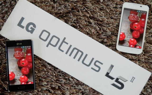 Официальный выход LG Optimus L5II