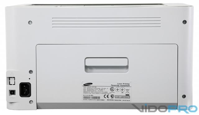 Samsung CLP-365: цветной лазерный принтер