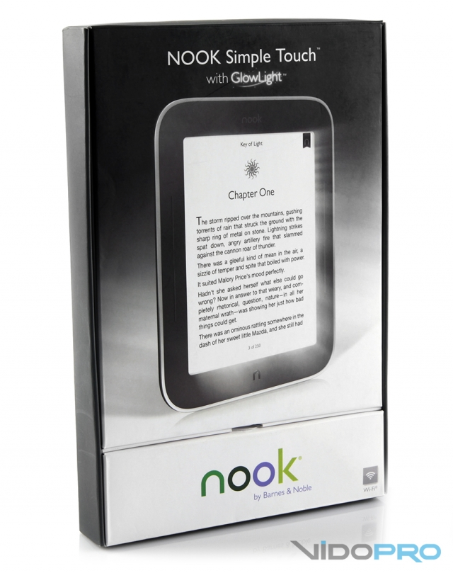 Barnes & Noble NOOK Simple Touch with GlowLight: создан, чтобы сиять