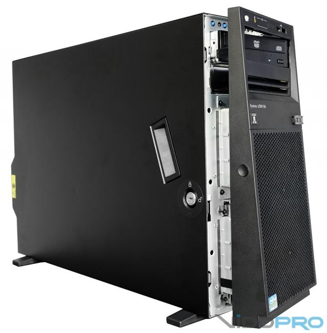 Обзор башенного сервера IBM System x3300 M4