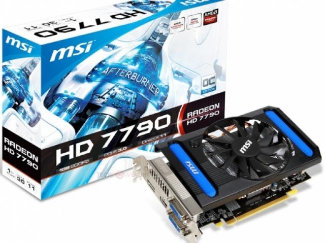 Видеокарта MSI AMD HD7790, охлаждаемая 10 см вентилятором