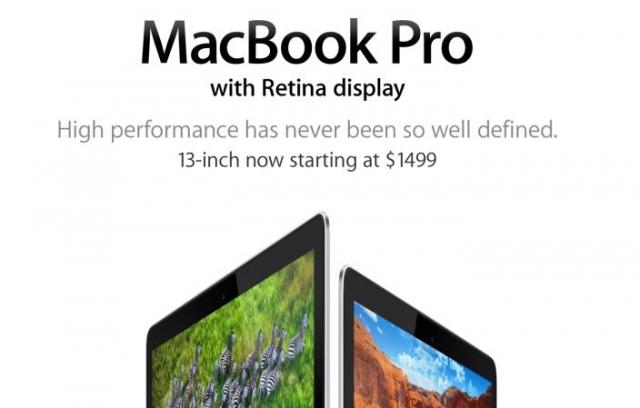 MacBook Pro с Retina-дисплеем потерял статус ноутбука с самым высоким разрешением