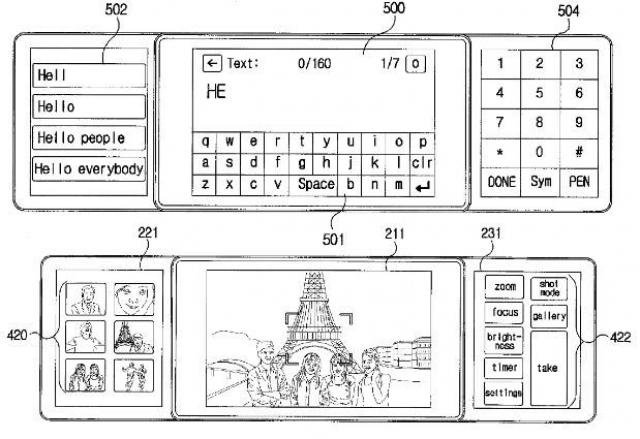 LG получила патент на телефон с тремя дисплеями