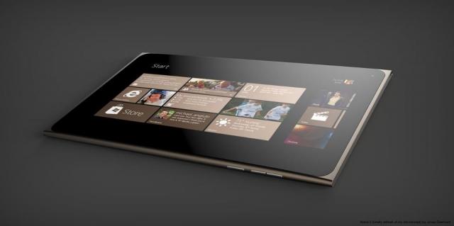 Появился новый концепт планшета Lumia от Nokia