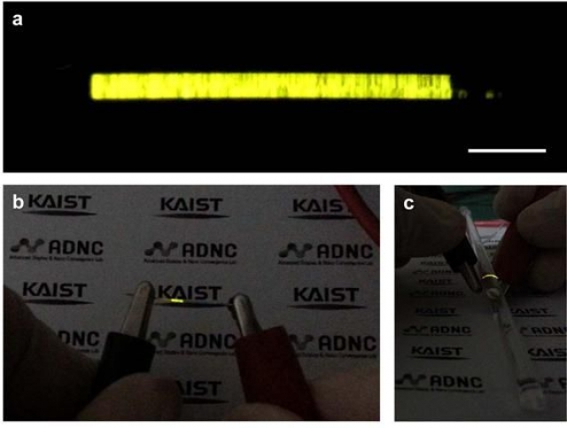 Исследователи смогли создать мягкие светодиодные волокна для гибких носимых дисплеев