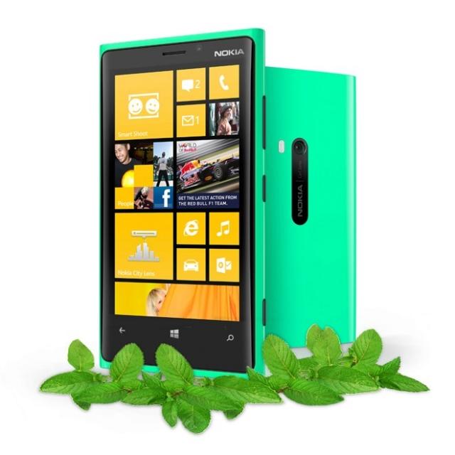 Ожидается: Nokia Lumia 920 в мятно-зеленом цвете