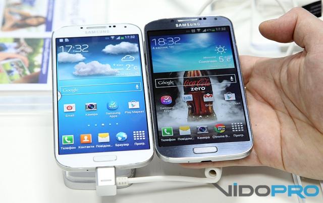 В Украине официально представлен смартфон Samsung Galaxy S4