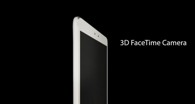 Концепт iPad 5 – дисплей 3D и две фронтальные камеры