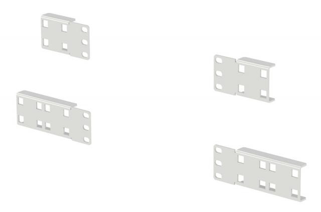 Вертикальный монтаж розеточных блоков в шкафах и стойках ZPAS