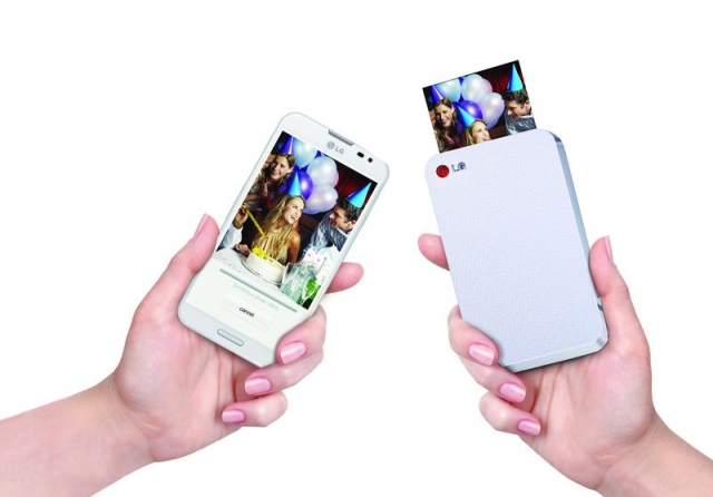 Компактный фотопринтер LG Pocket Photo PD223